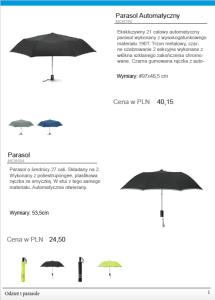 Odzież i parasole