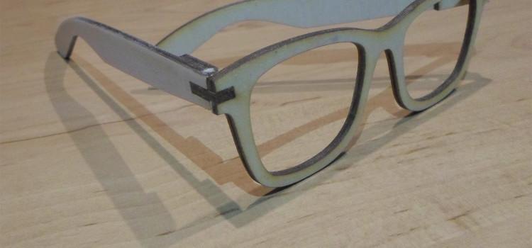 Okulary drewniane